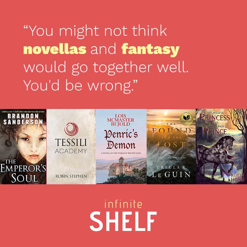 Top 5 Fantasy Novellas